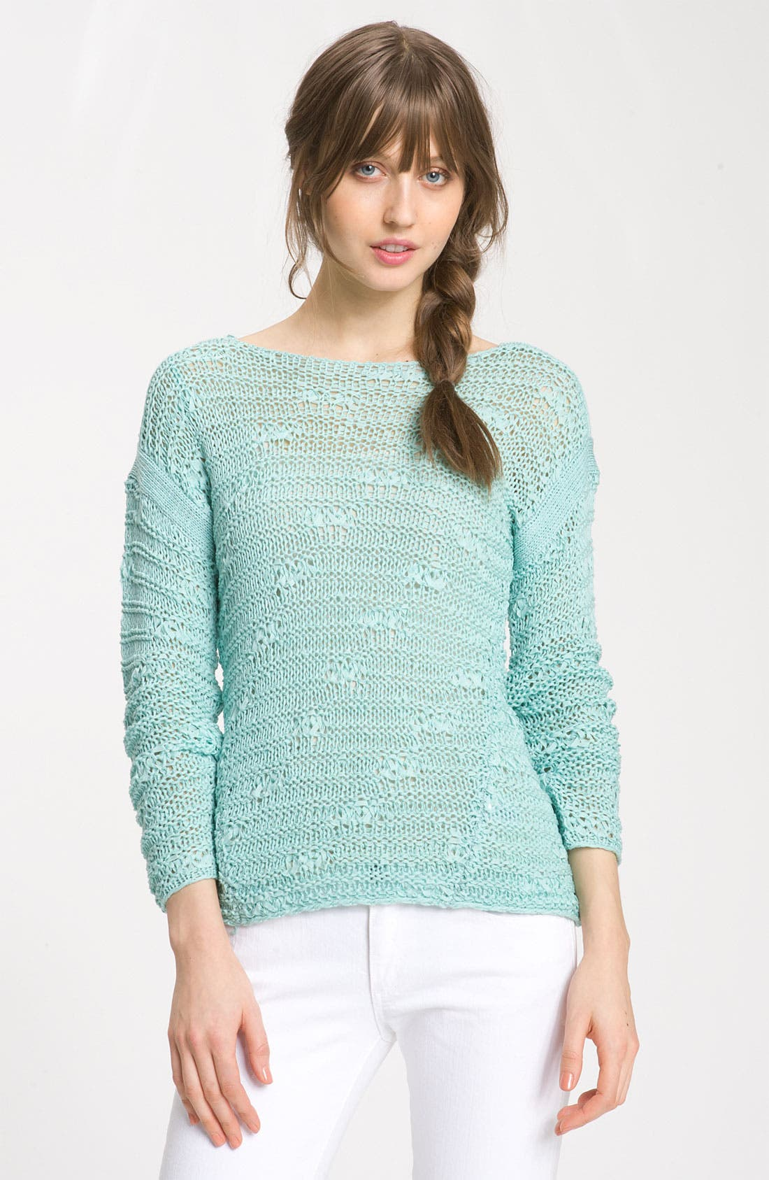 Alternate Image 1 Selected - Trouvé Textured Stitch Sweater
