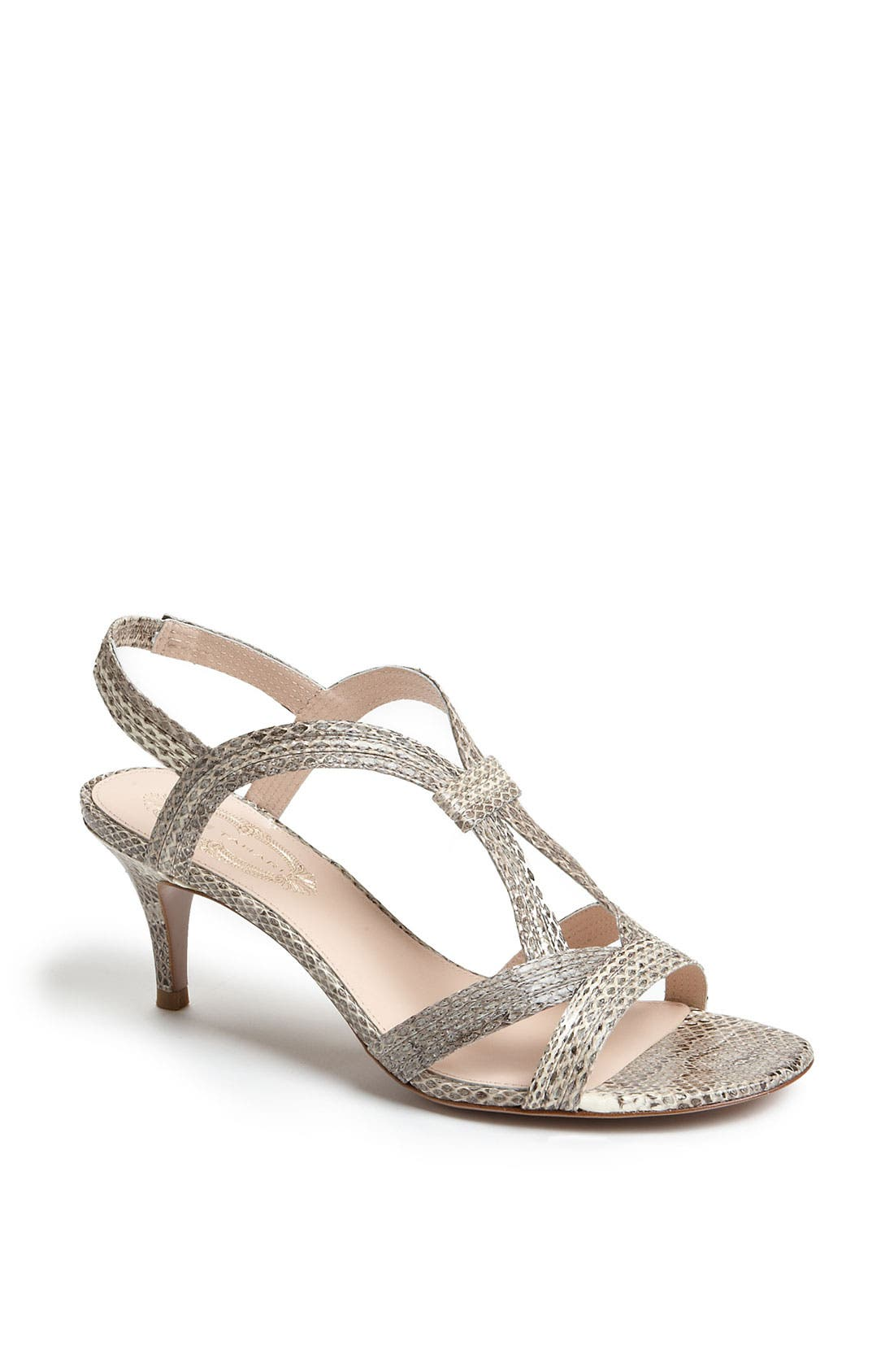'Zoe' Sandal,                         Main,                         color, Natural