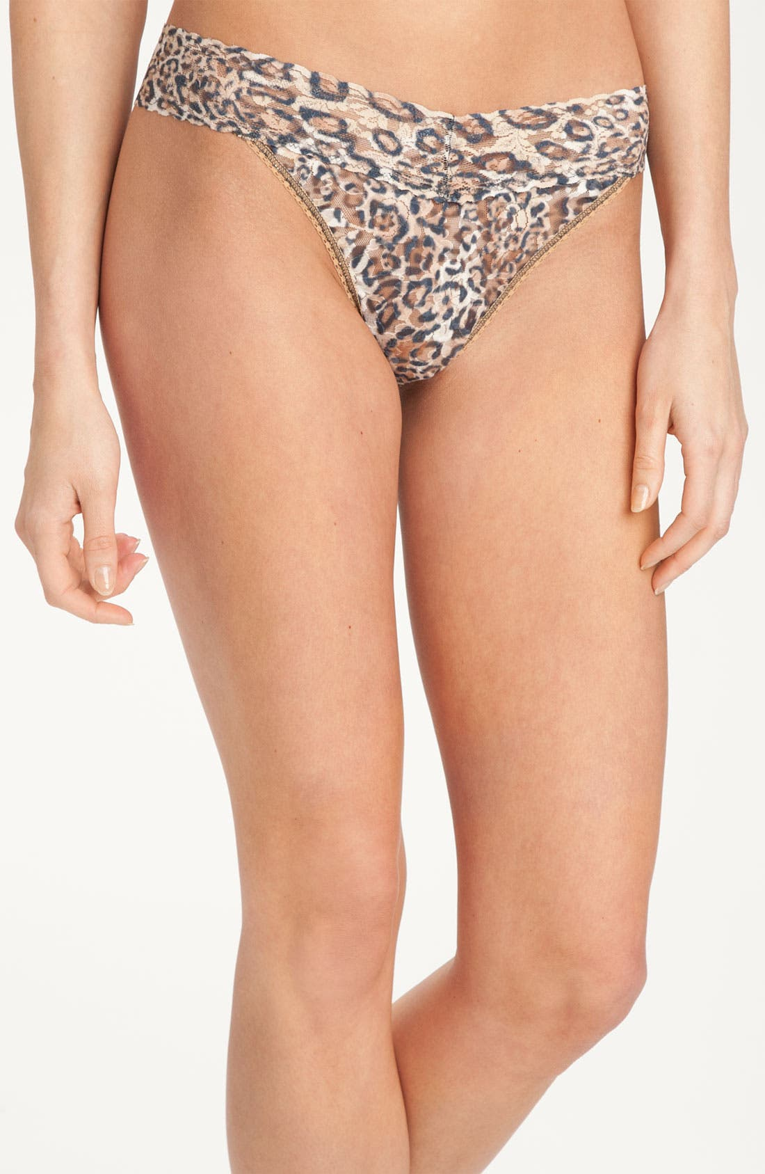 Alternate Image 1 Selected - Hanky Panky 'Leopard' Original Rise Thong
