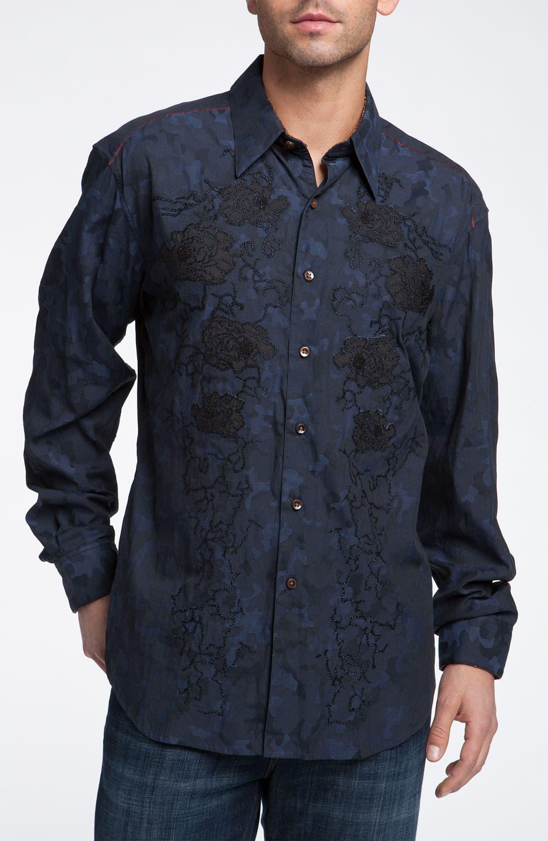Alternate Image 1 Selected - Robert Graham 'Tchou' Sport Shirt (Limited Edition)