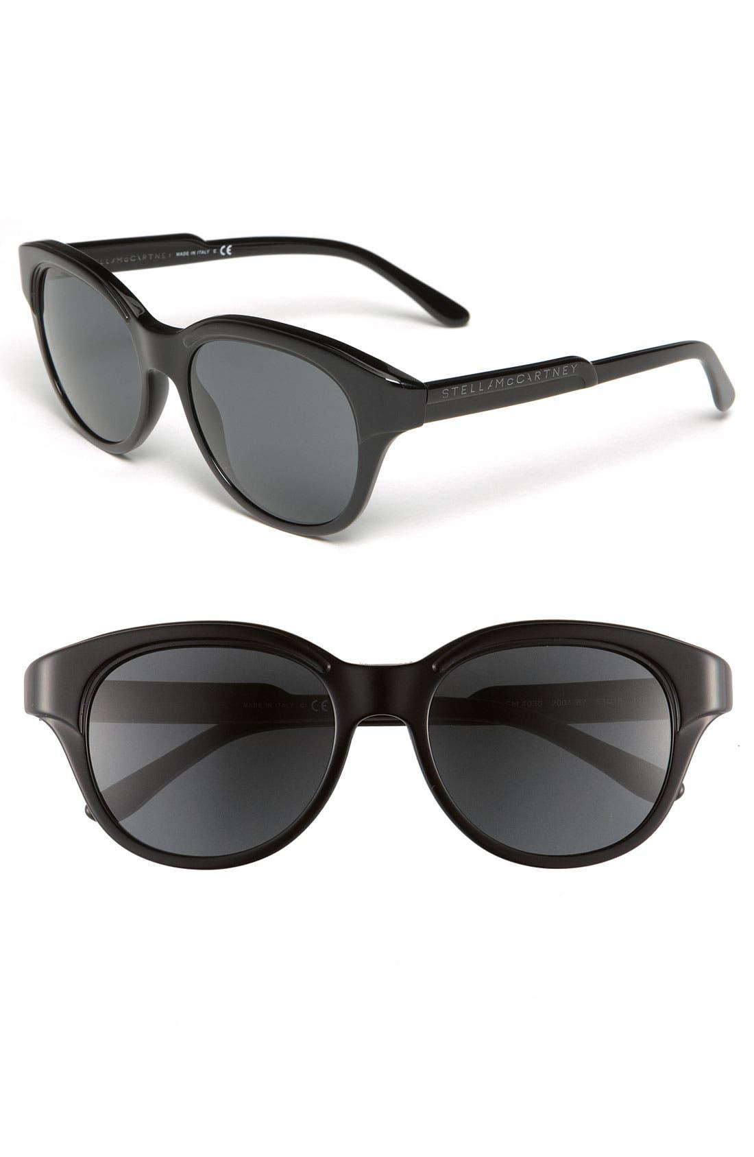 Main Image - Stella McCartney 'Small' 53mm Cat's Eye Sunglasses