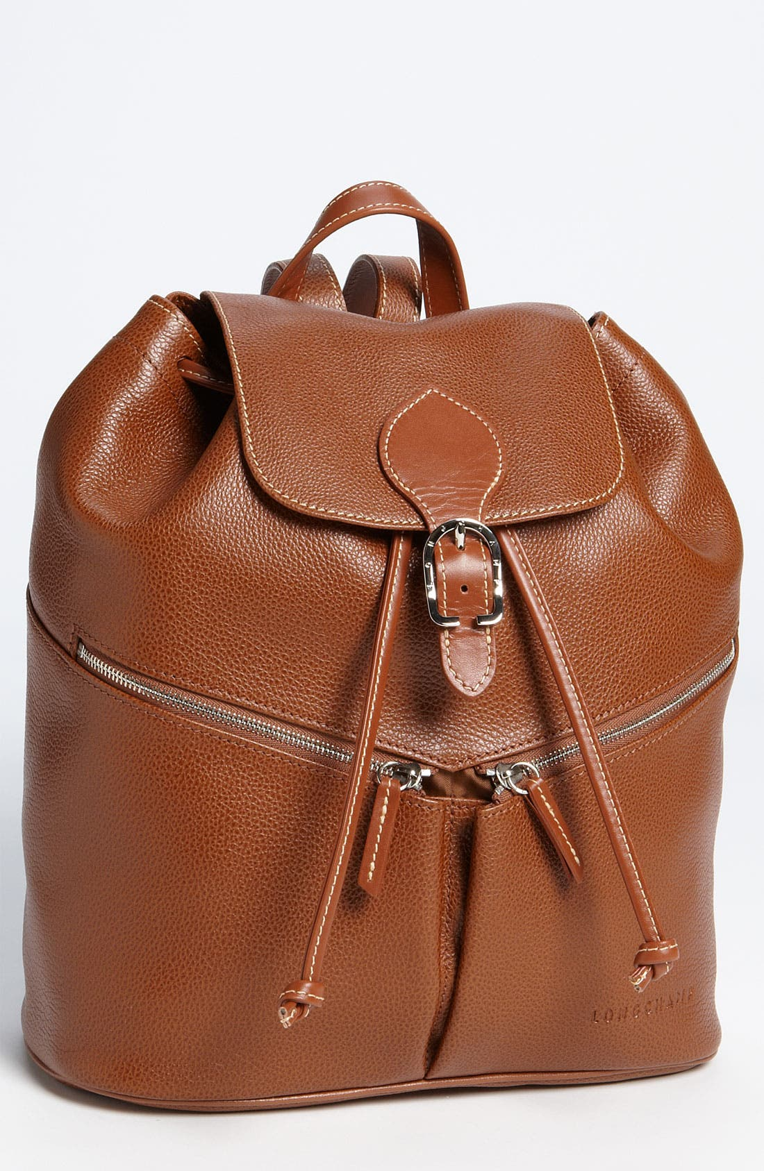 Alternate Image 1 Selected - Longchamp Leather Backpack