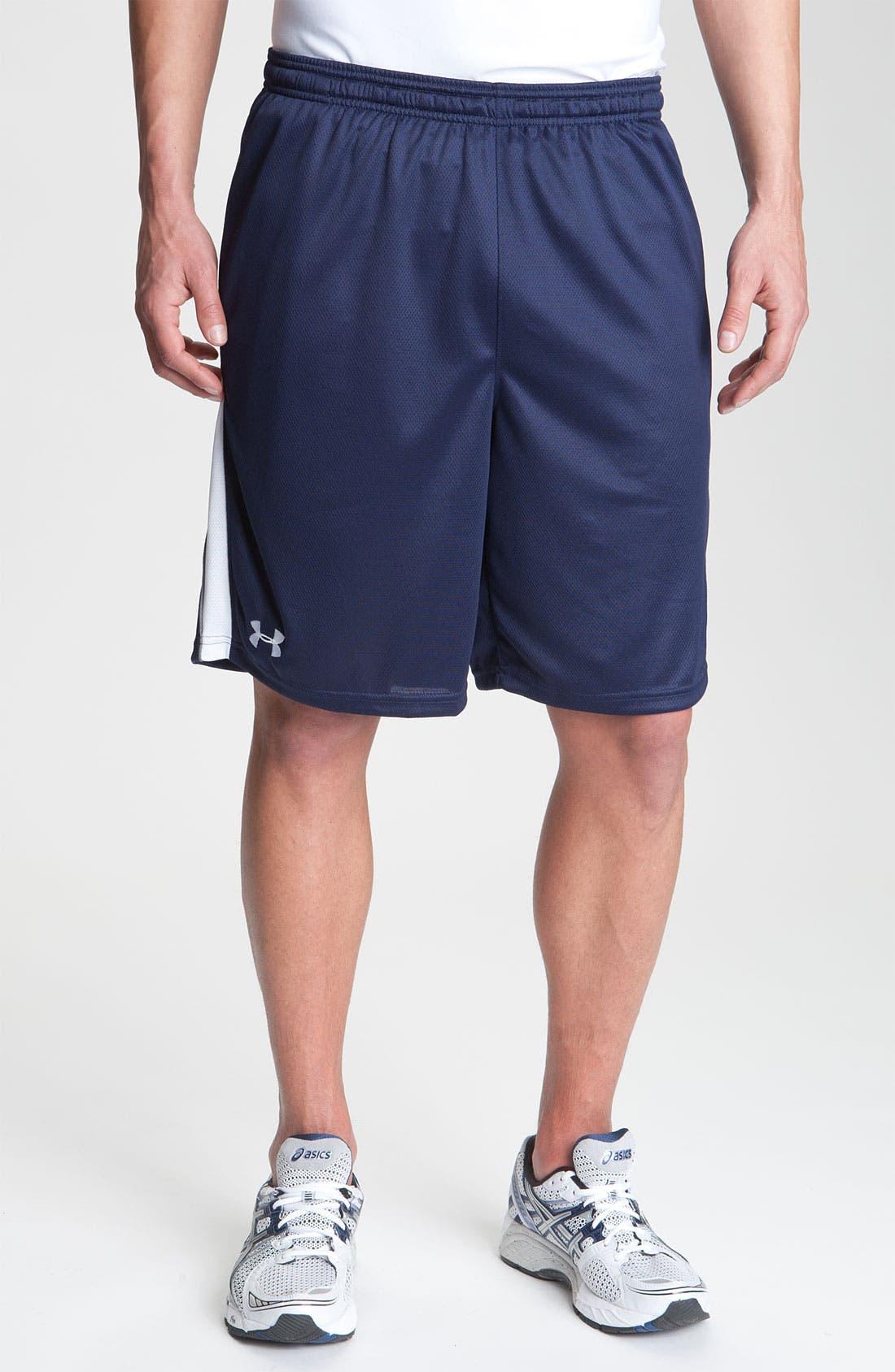 Alternate Image 1 Selected - Under Armour 'Flex Stripe' Shorts