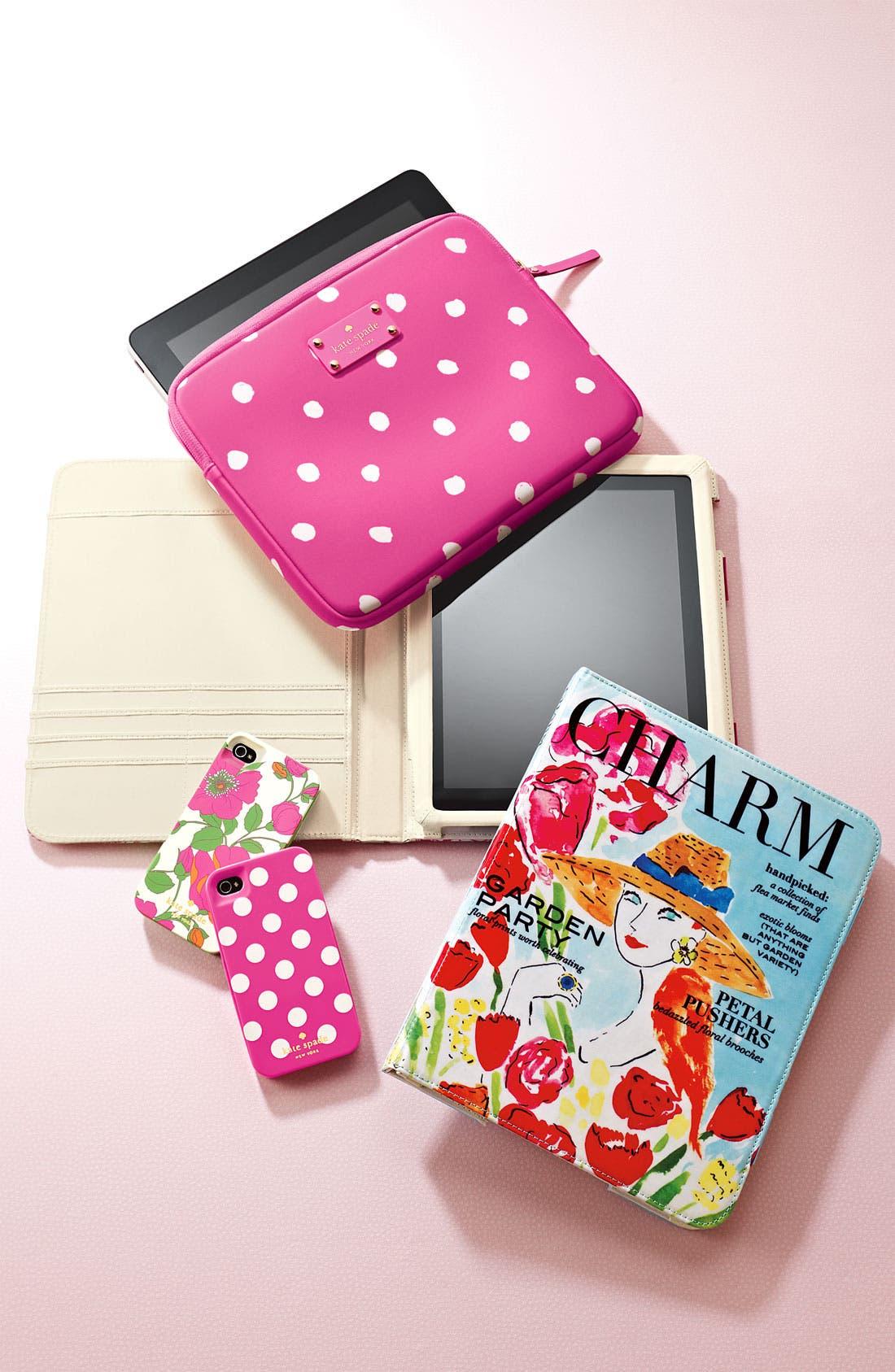 Alternate Image 5  - kate spade new york 'pretty woman' neoprene iPad sleeve