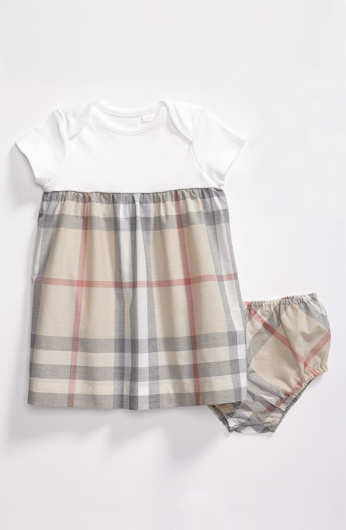 Alternate Image 1 Selected - Burberry Dress (Baby)
