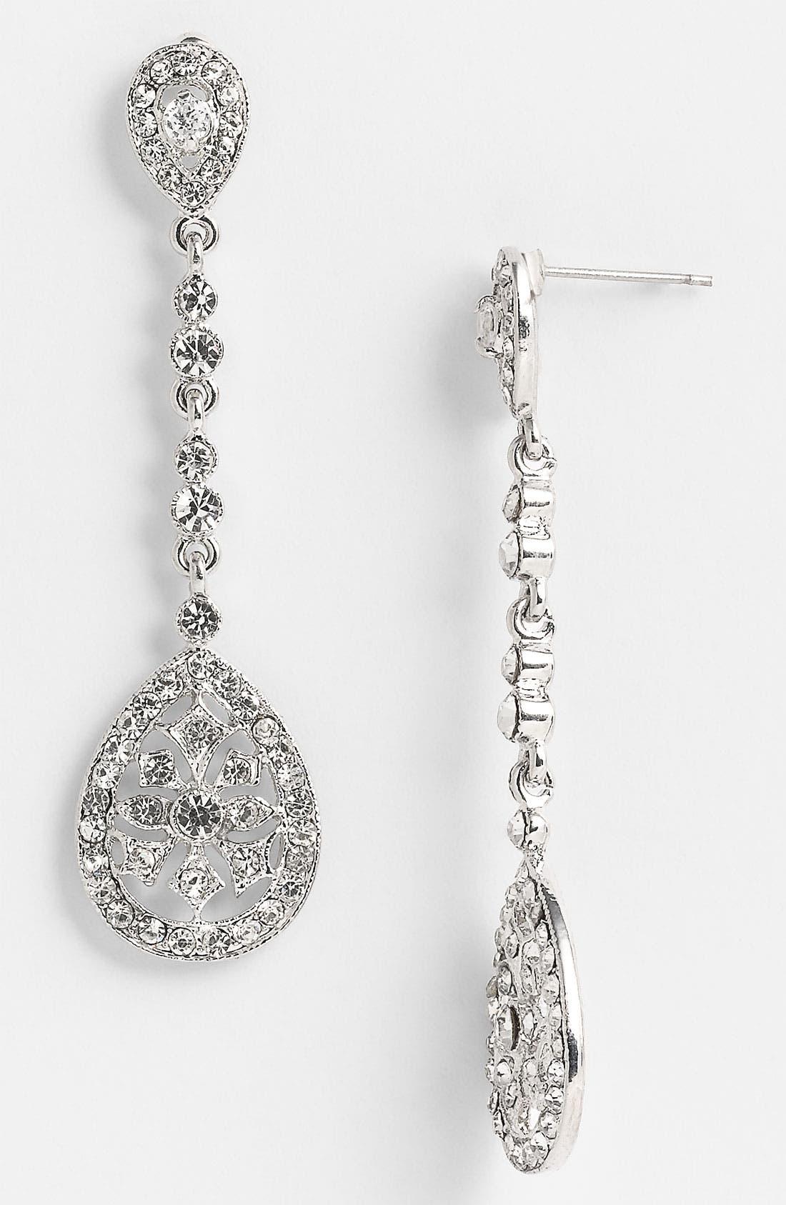 Alternate Image 1 Selected - Nina 'Maegan' Filigree Chandelier Earrings