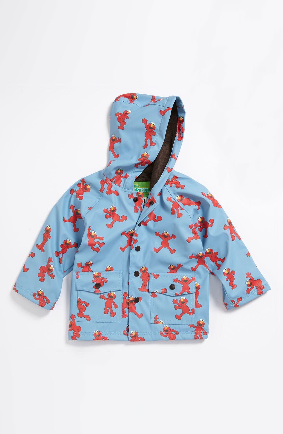 Alternate Image 1 Selected - Hatley 'Sesame Street® - Elmo' Raincoat (Toddler)