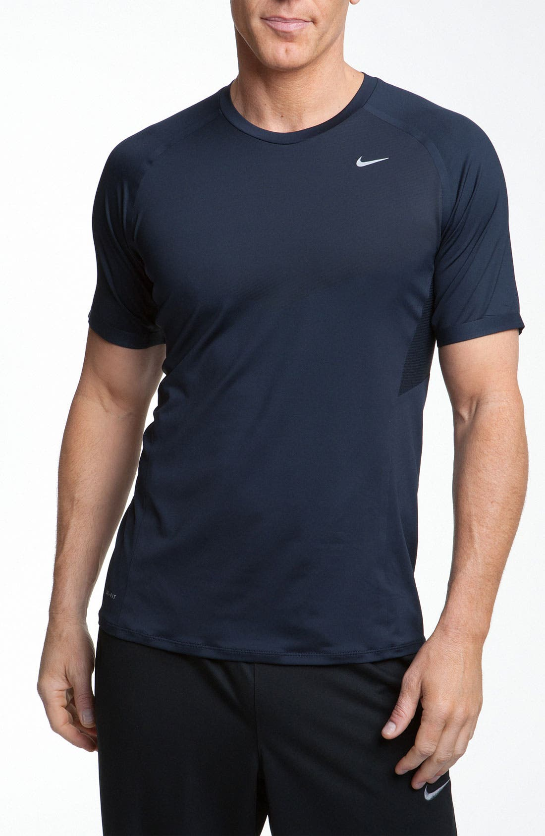 Alternate Image 1 Selected - Nike 'Speed' Short Sleeve Top