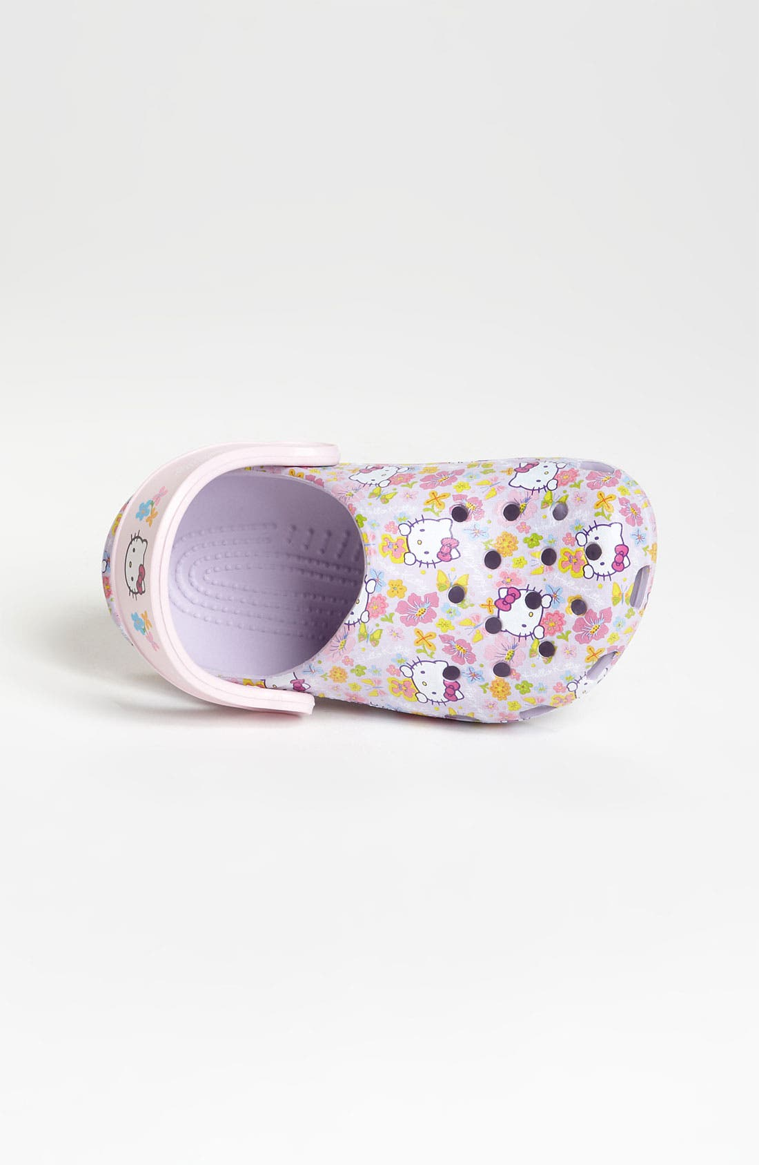 Alternate Image 3  - CROCS™ 'Hello Kitty®' Slip-On (Walker & Toddler)