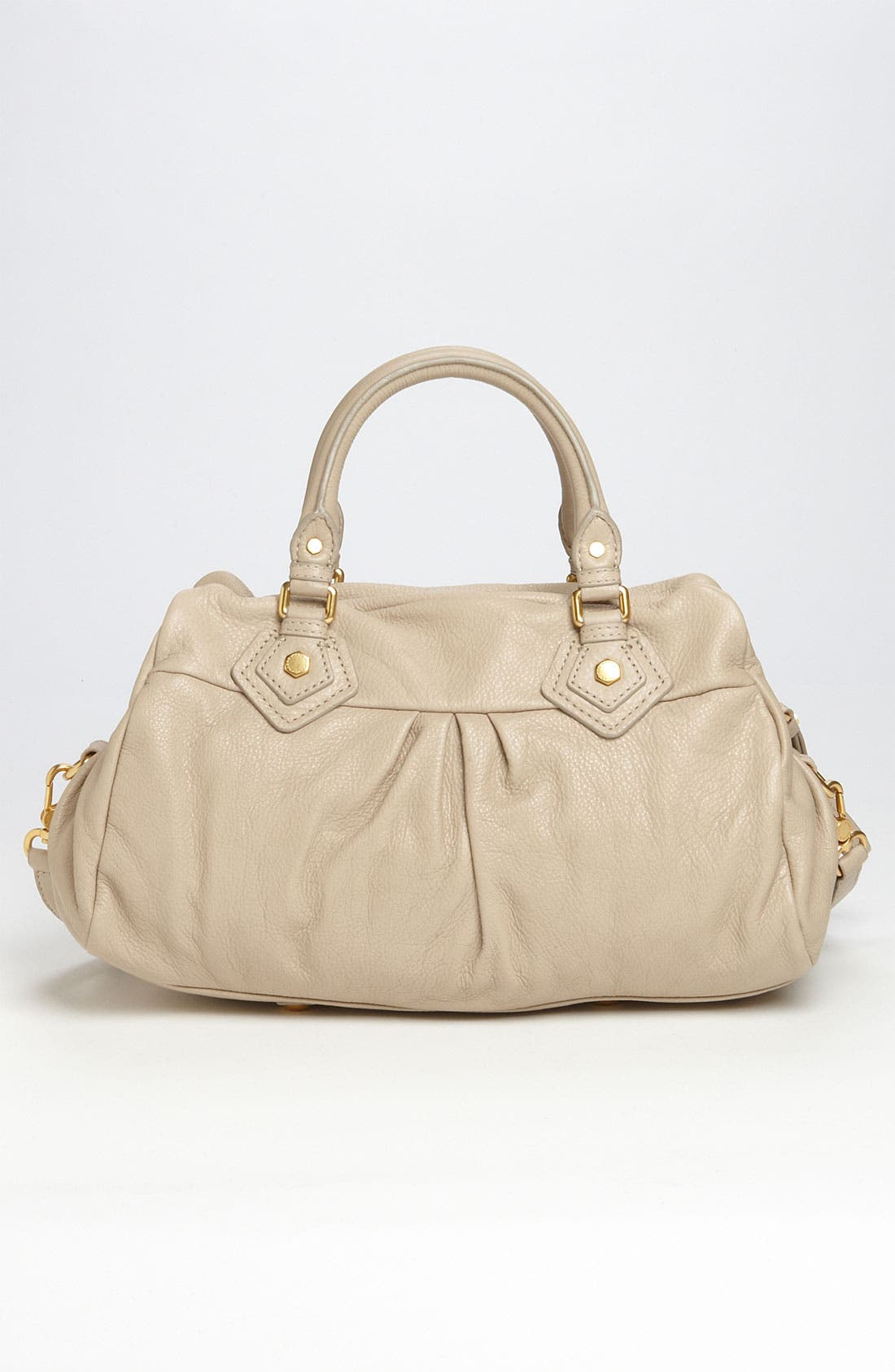 MARC BY MARC JACOBS 'Classic Q - Groovee' Satchel,                             Alternate thumbnail 4, color,                             Creme