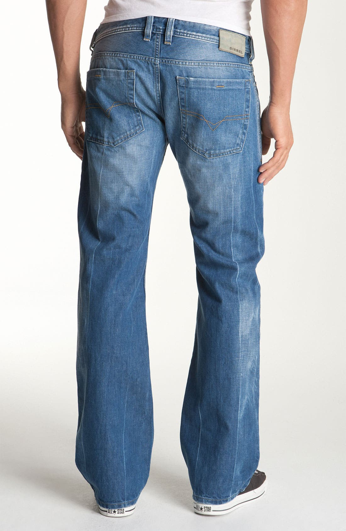 Alternate Image 1 Selected - DIESEL® 'Zatiny' Bootcut Jeans (888B)