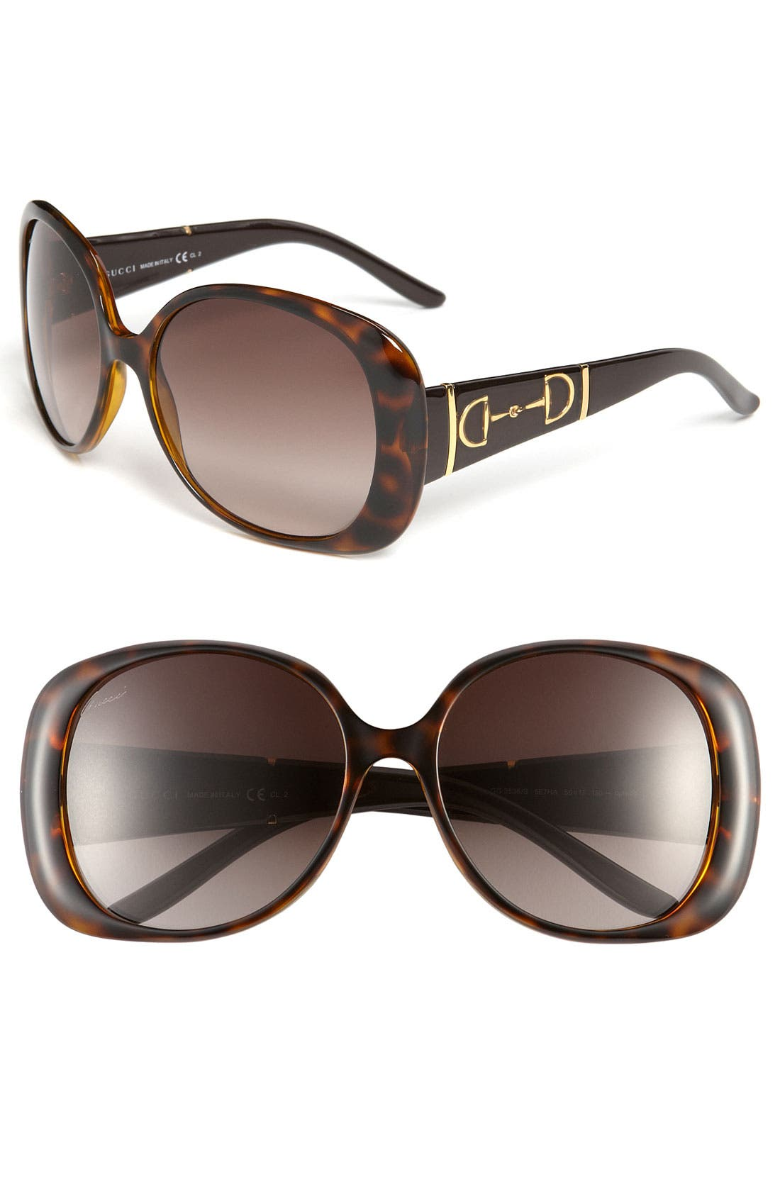 Alternate Image 1 Selected - Gucci Oversized Sunglasses