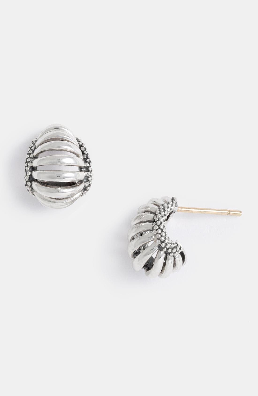 Alternate Image 1 Selected - LAGOS 'Interlude' Small Hoop Earrings