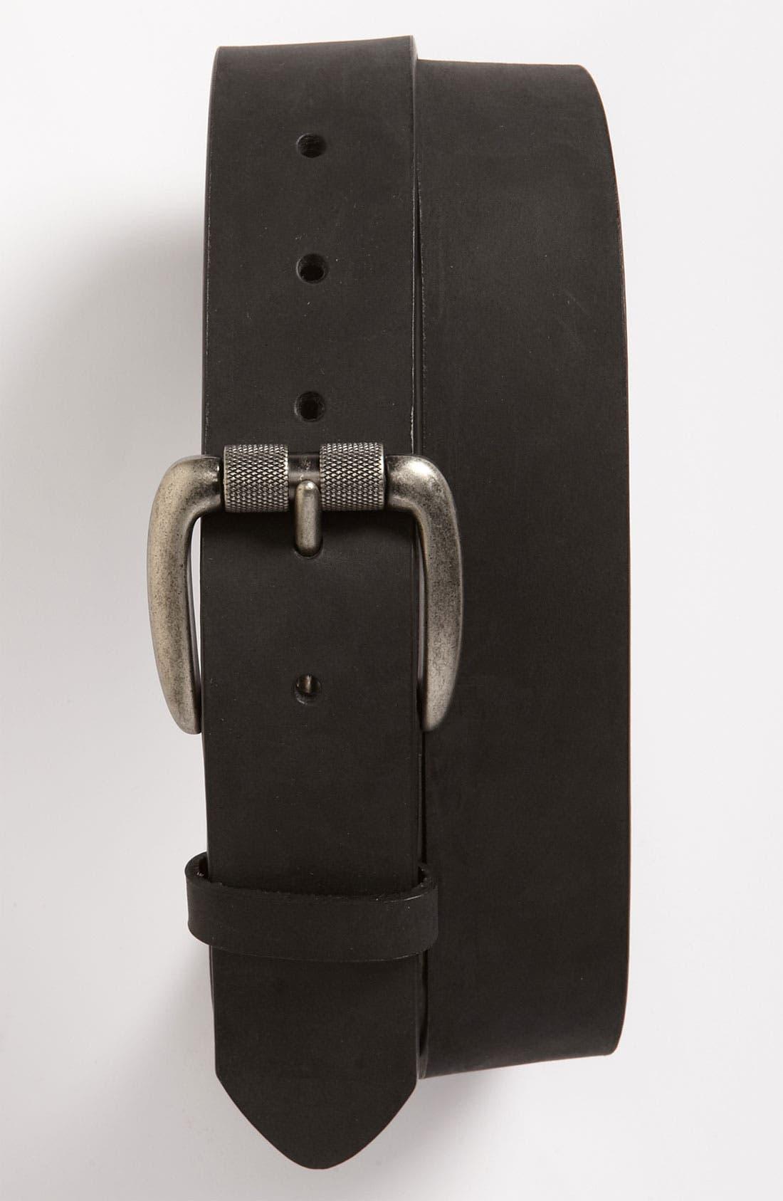 Main Image - Bill Adler 1981 Nubuck Leather Belt