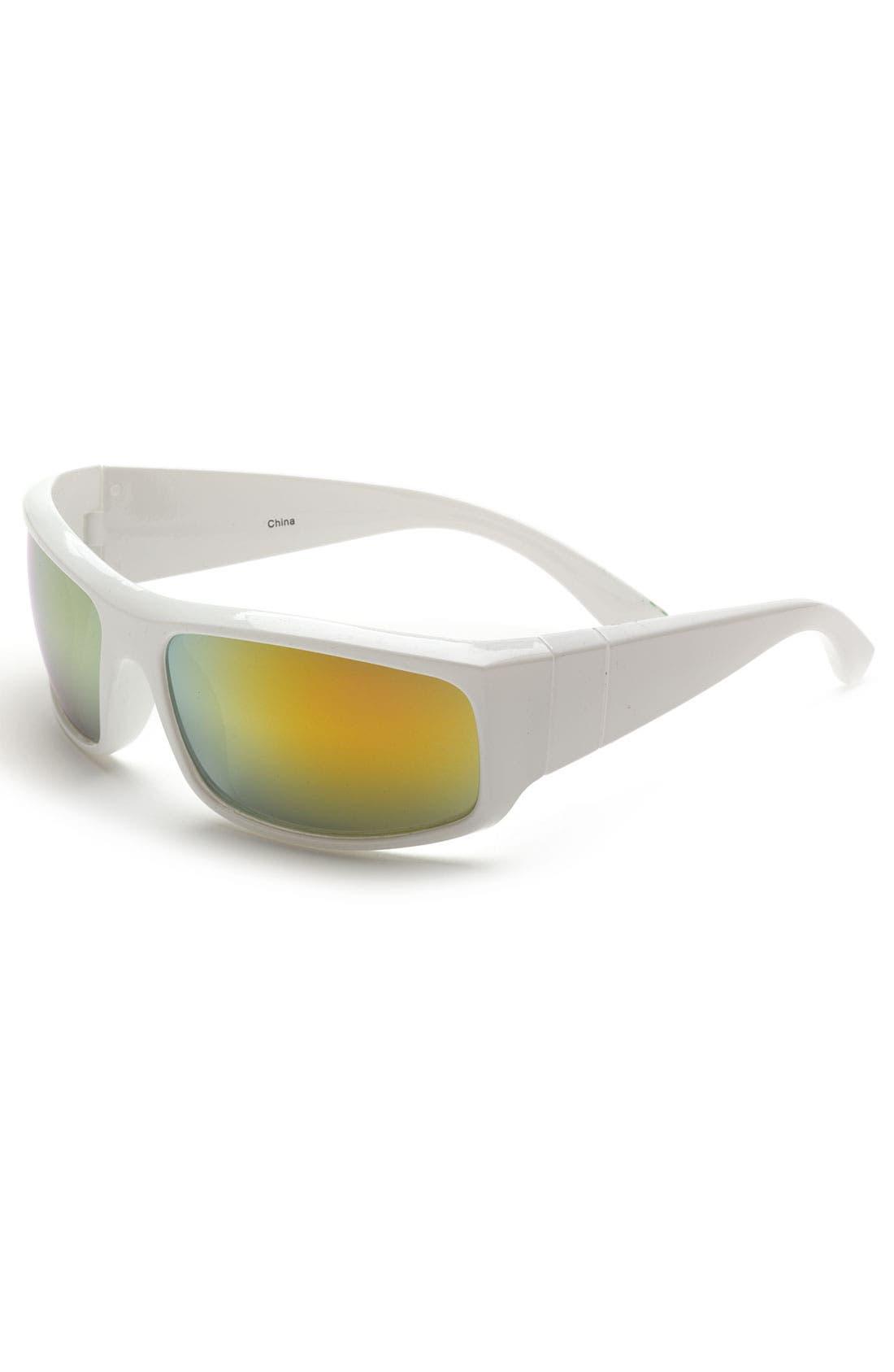 Alternate Image 1 Selected - Icon Eyewear 'Corey Sport' Wrap Sunglasses (Boys)