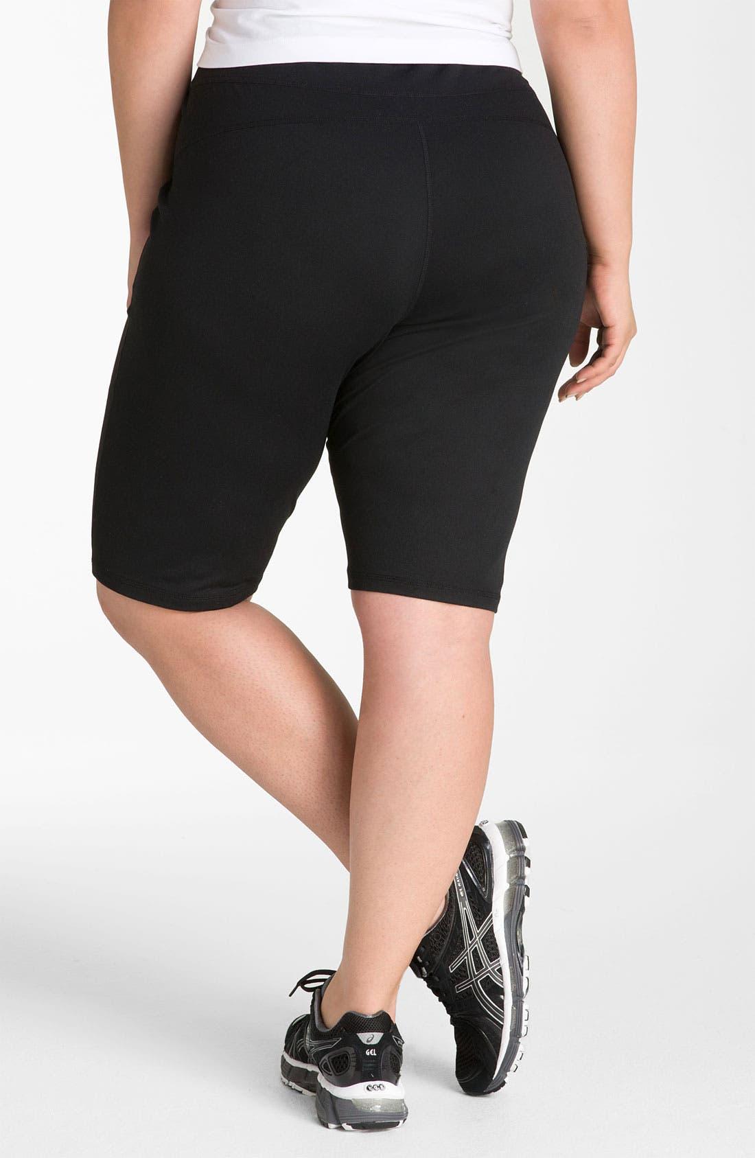 Alternate Image 1 Selected - Zella 'Balance 2' Shorts (Plus Size)