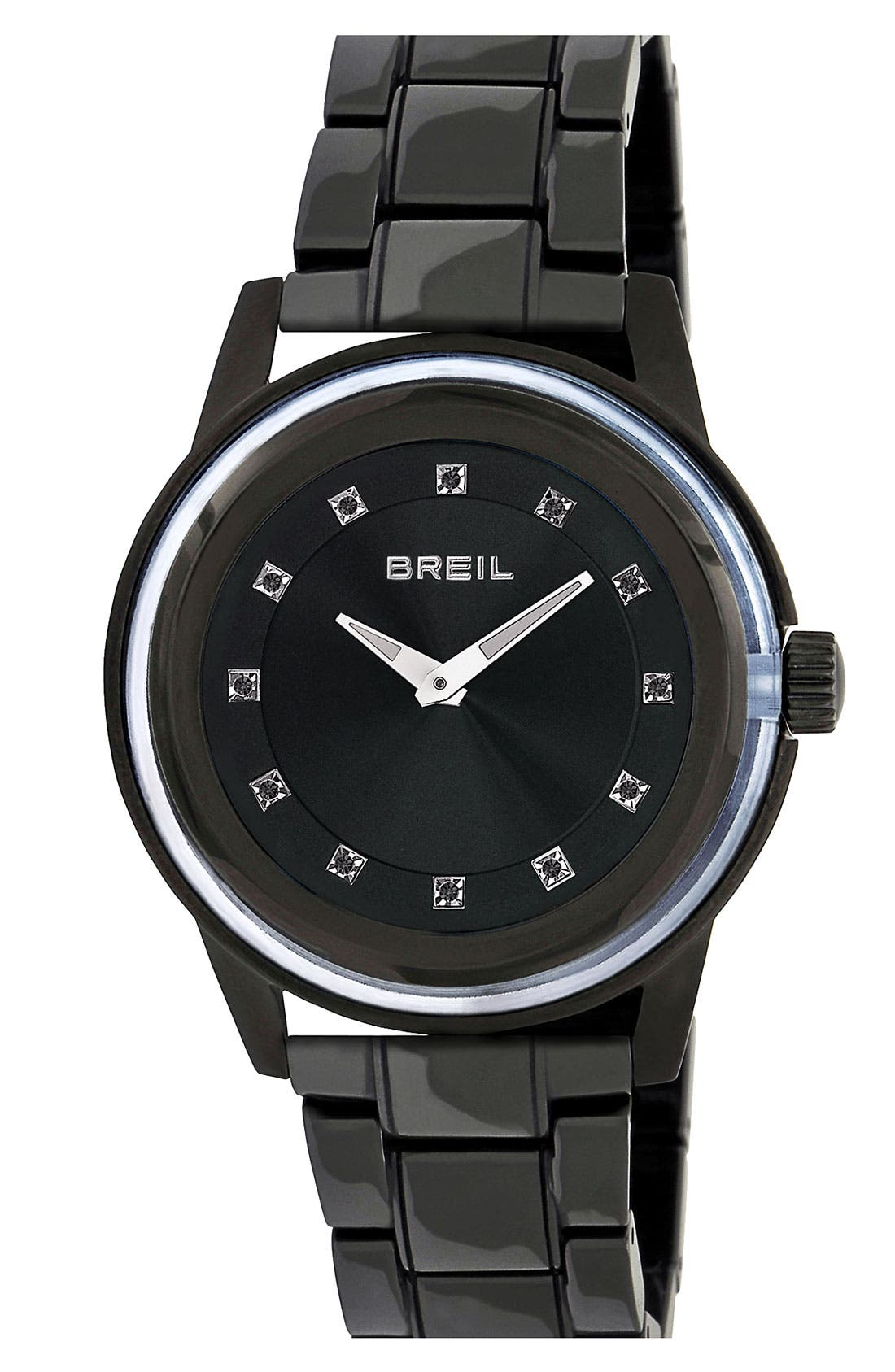 Alternate Image 1 Selected - Breil 'Orchestra' Ceramic Bracelet Watch, 40mm