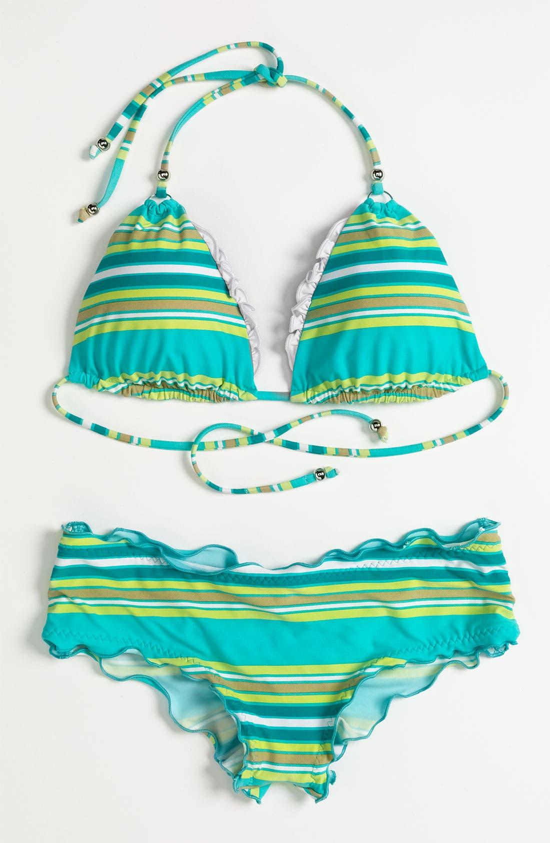 Alternate Image 5  - Vitamin A Silver 'Rio' Reversible Halter Bikini Top