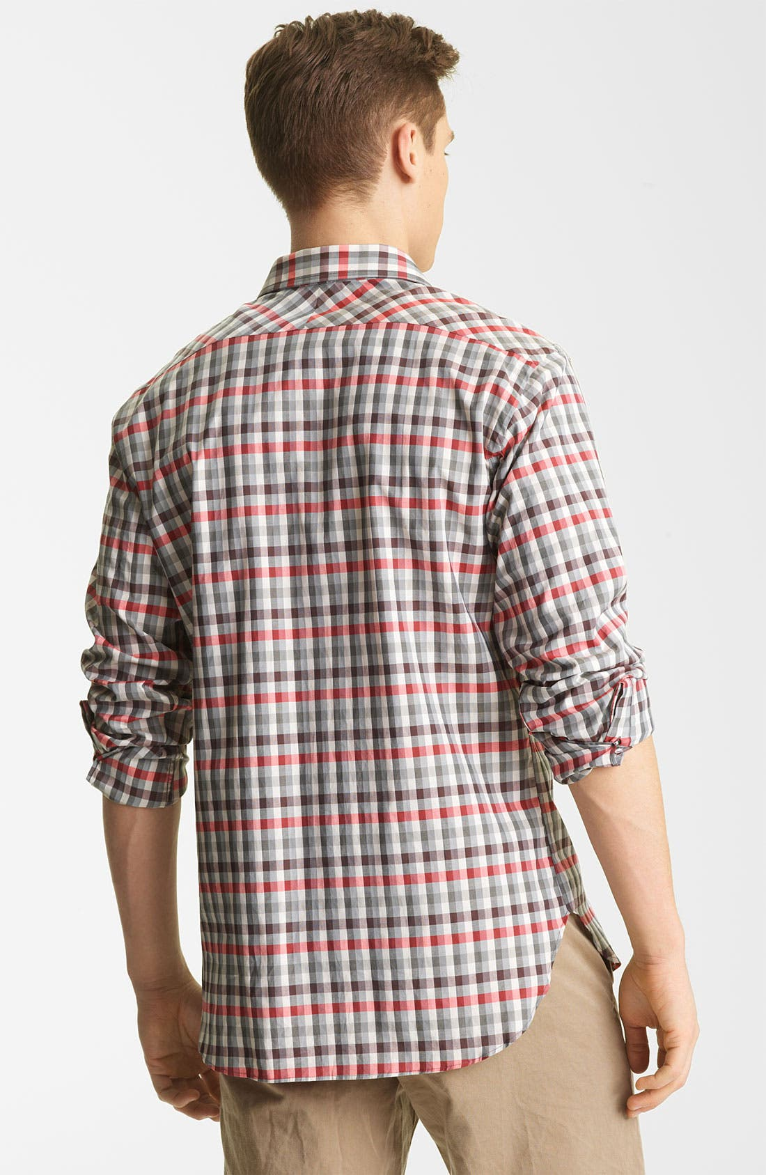 Alternate Image 2  - Billy Reid 'John T' Check Woven Shirt