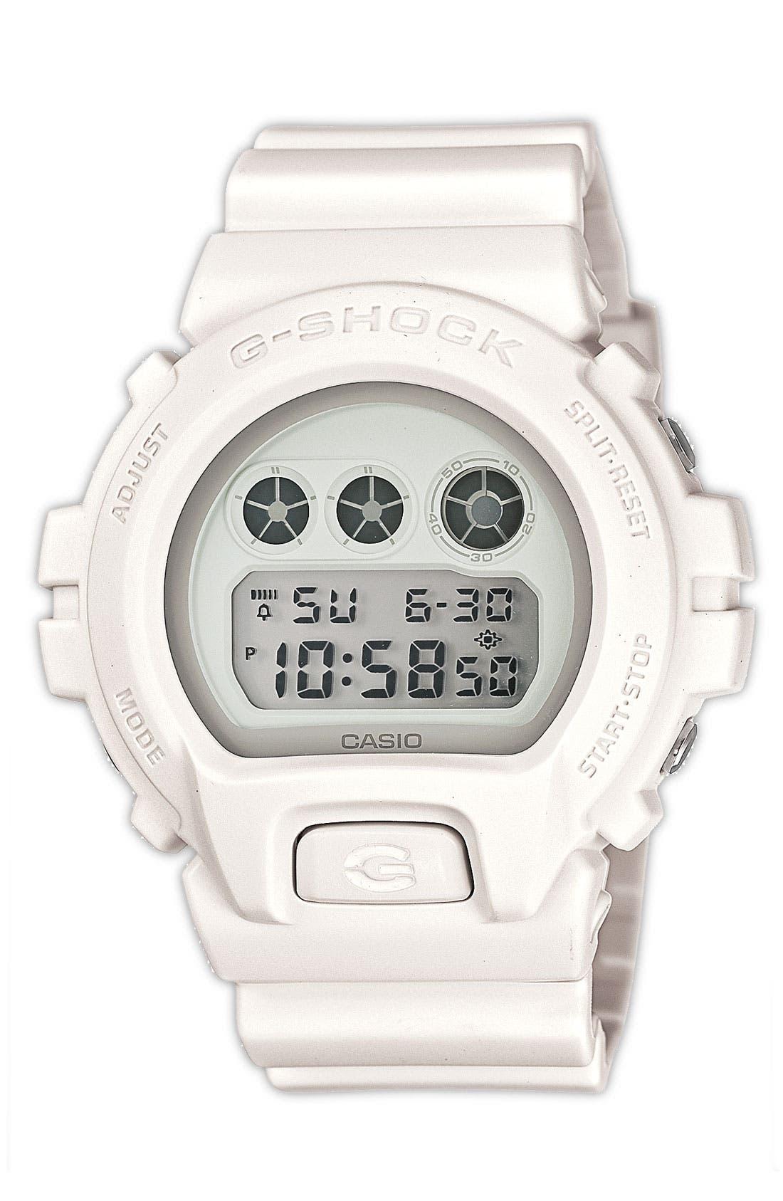 Main Image - G-Shock 'Mirror Metallic' Digital Watch, 50mm
