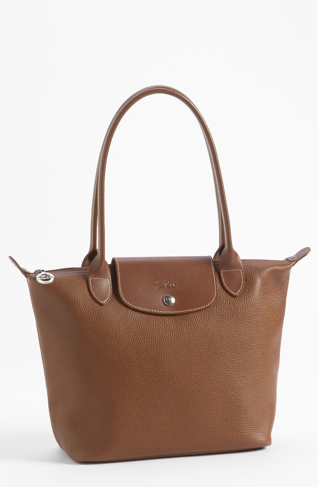 Main Image - Longchamp 'Veau  Fouloneé' Shoulder Bag (Nordstrom Exclusive)