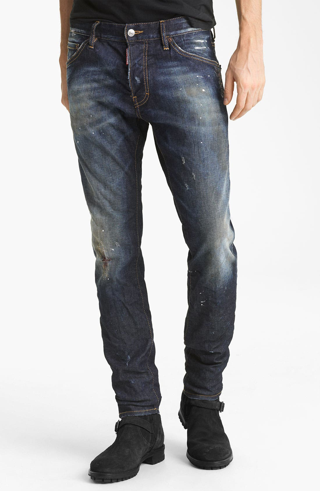 Alternate Image 2  - Dsquared2 'Cool Guy' Slim Fit Jeans (Blue Wash)
