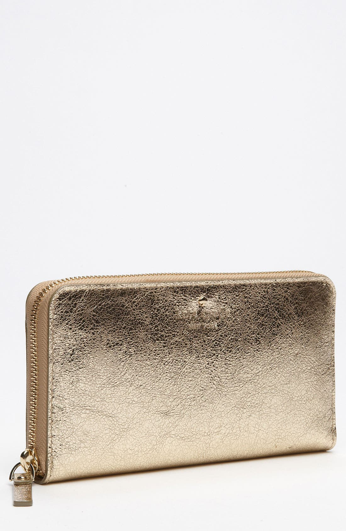 Main Image - kate spade new york 'harrison street - metallic lacey' wallet