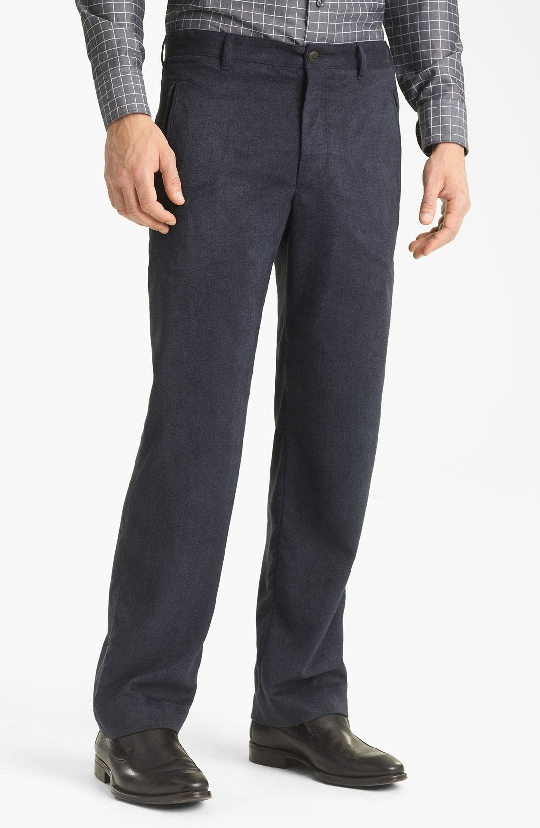 Alternate Image 1 Selected - Armani Collezioni Dress Pants