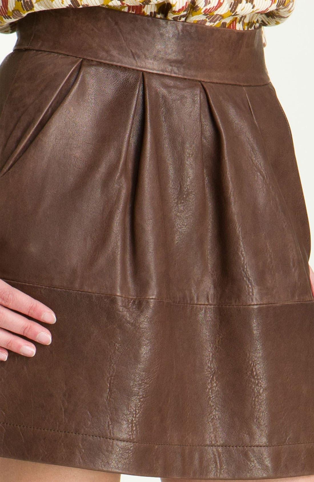 Alternate Image 3  - Paul & Joe Sister 'Cartell' Leather Skirt
