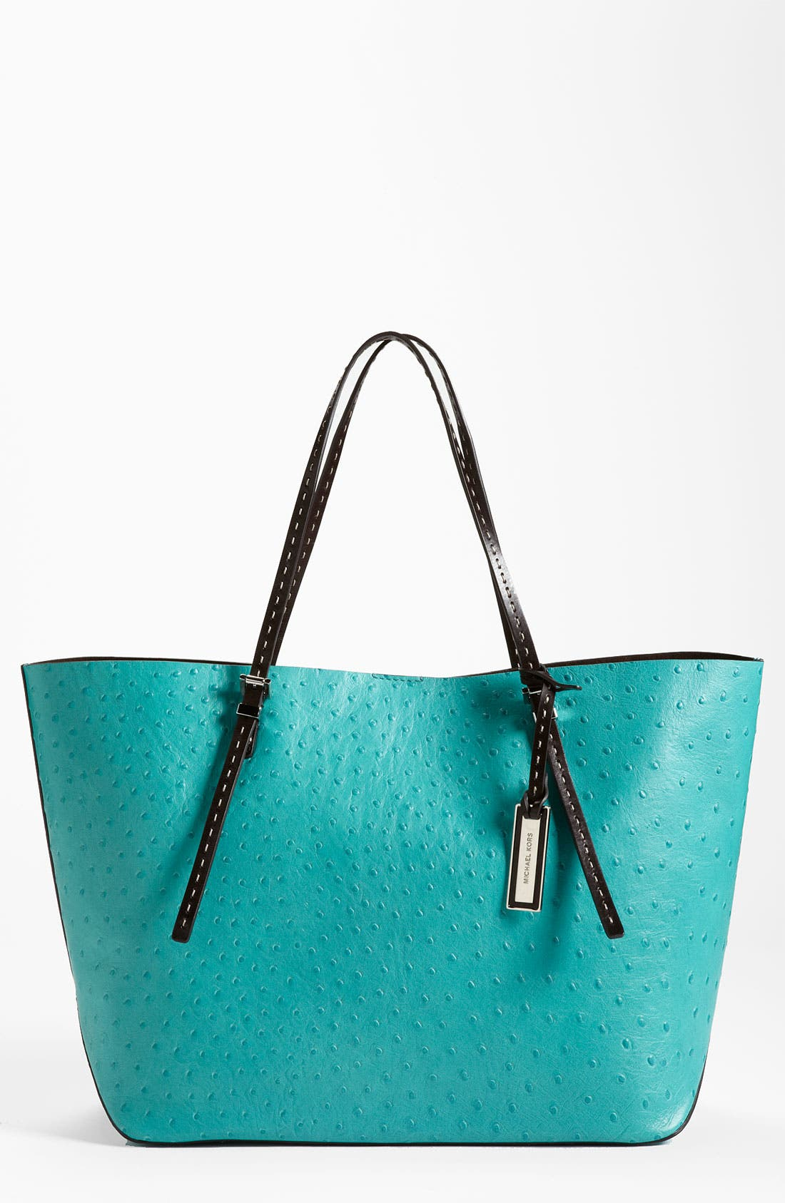 Alternate Image 1 Selected - Michael Kors Ostrich Embossed Leather Tote