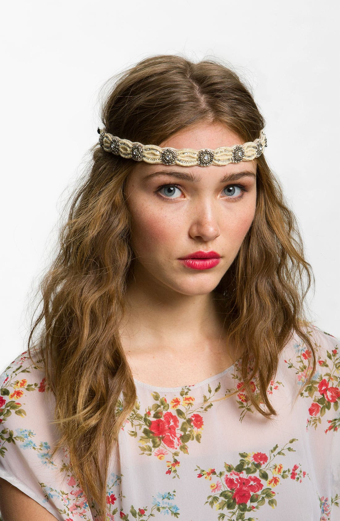 Main Image - BP. Beaded Glam Headband