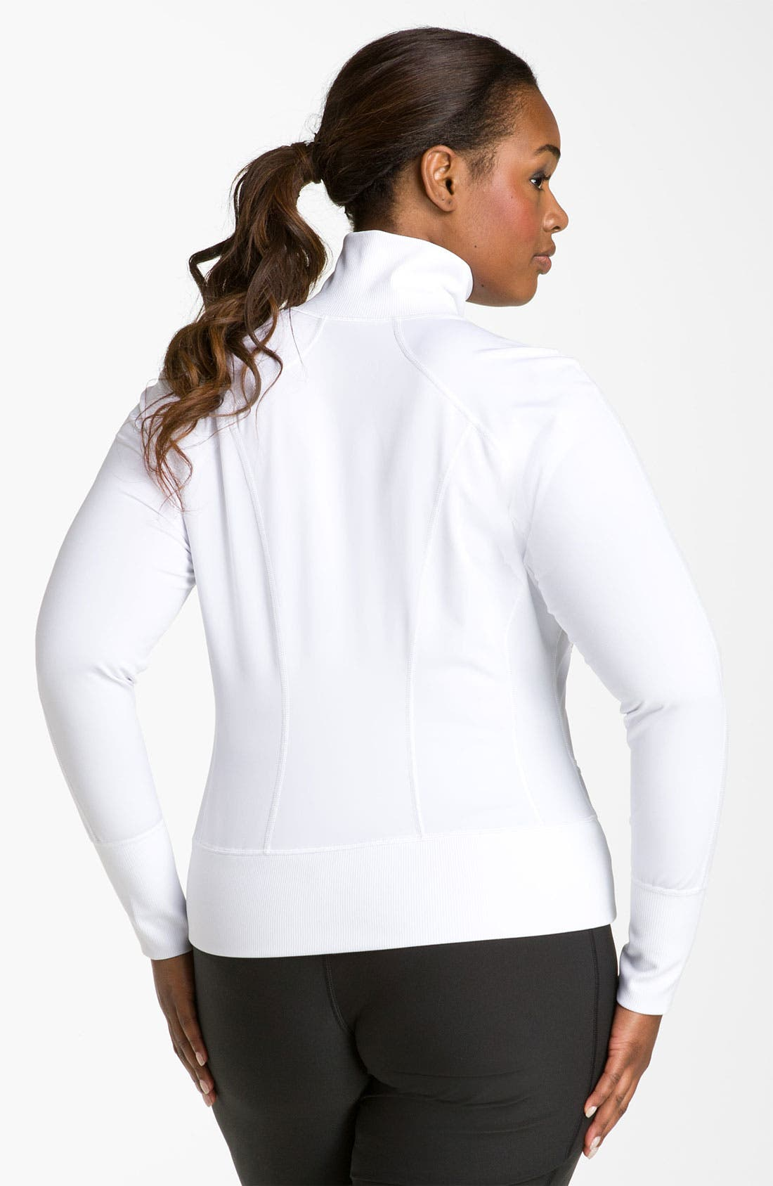 Alternate Image 2  - Zella 'No. 1 Sport' Jacket (Plus)