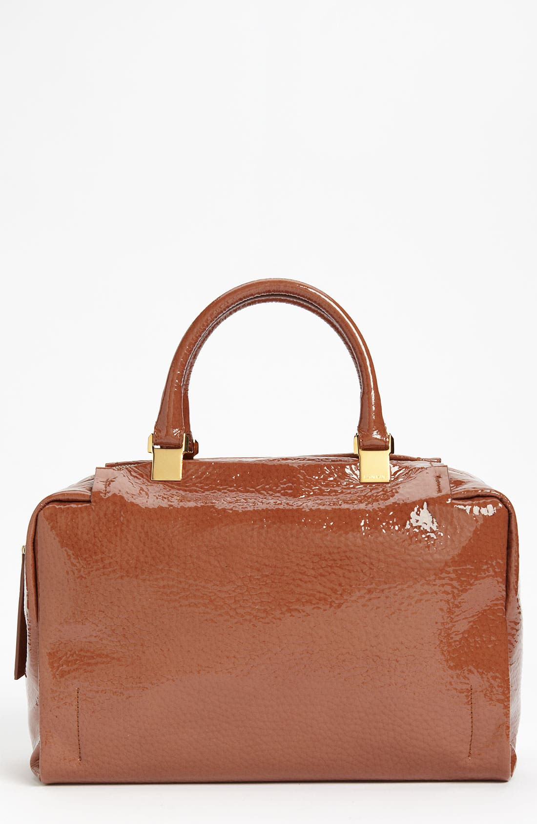 Alternate Image 1 Selected - Lanvin 'Moon River' Patent Leather Satchel
