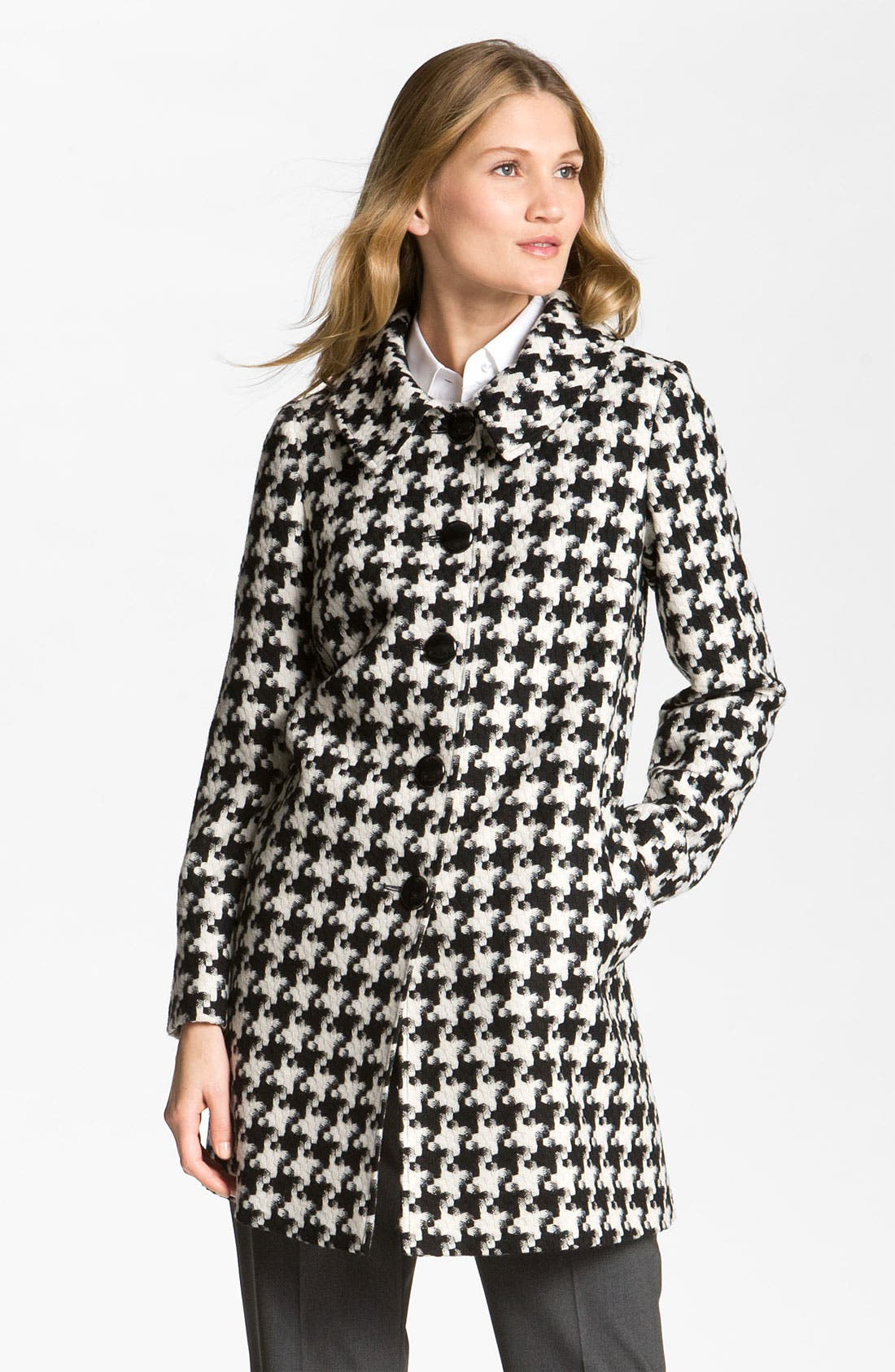 Alternate Image 1 Selected - Charles Gray London Houndstooth Topper