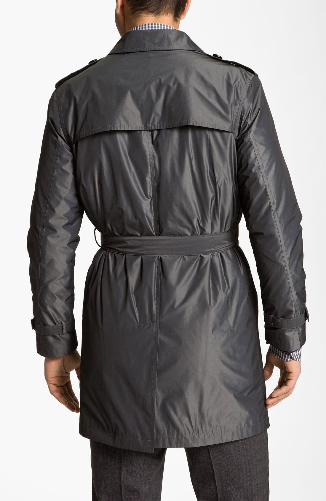 Alternate Image 2  - John Varvatos 'Splash' Raincoat