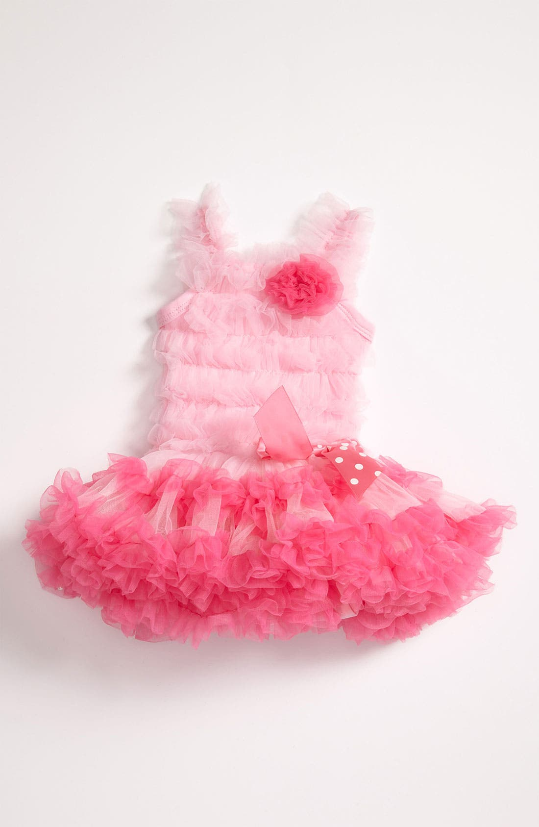 Alternate Image 1 Selected - Popatu Ruffle Petticoat Dress (Baby Girls)