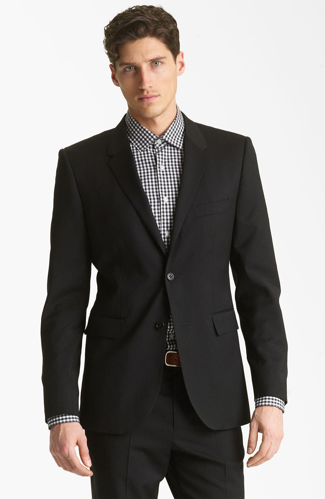 Alternate Image 1 Selected - Shipley & Halmos 'Green Classic ' Suit Blazer