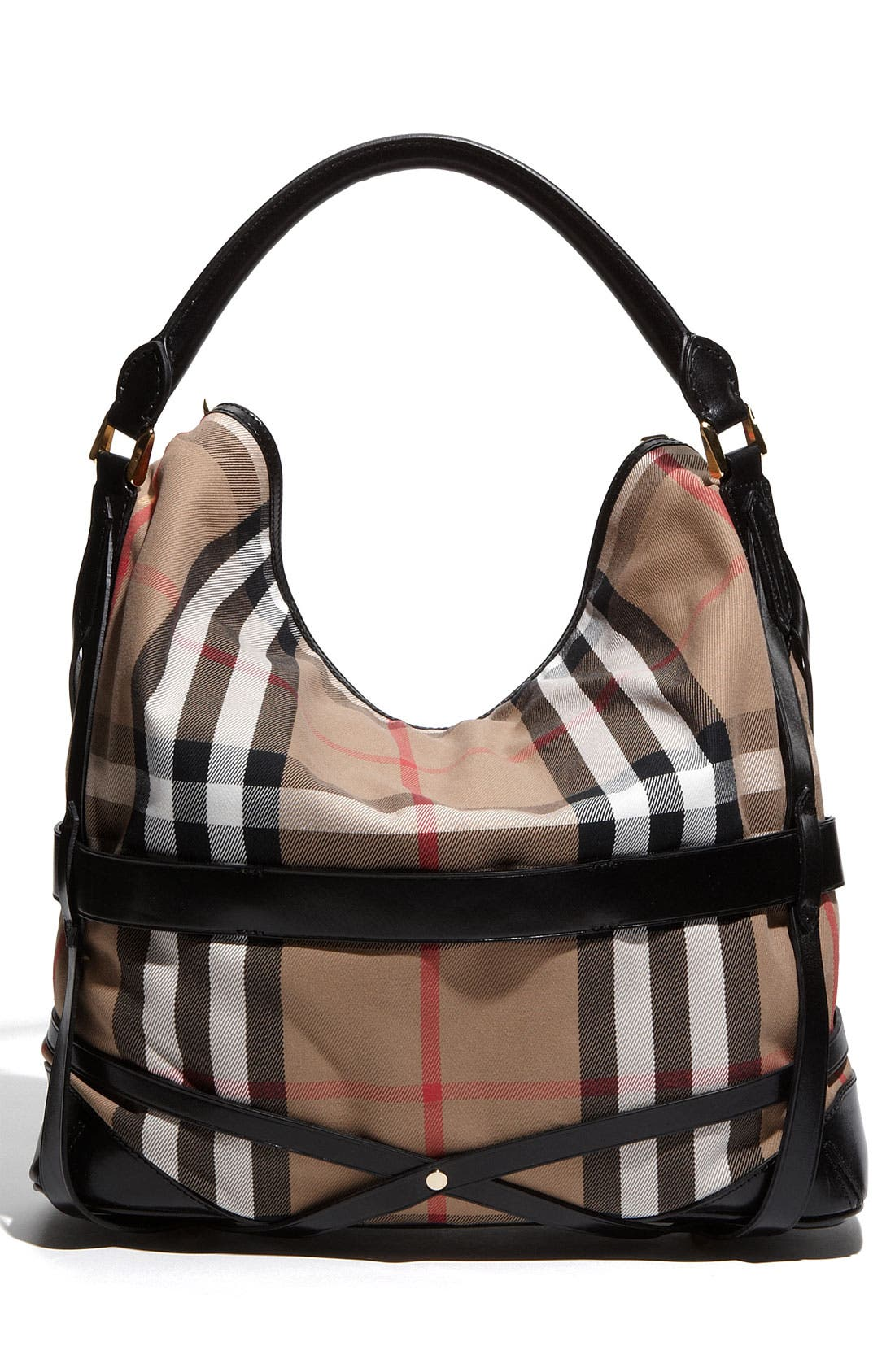 Alternate Image 4  - Burberry 'House Check' Hobo, Large