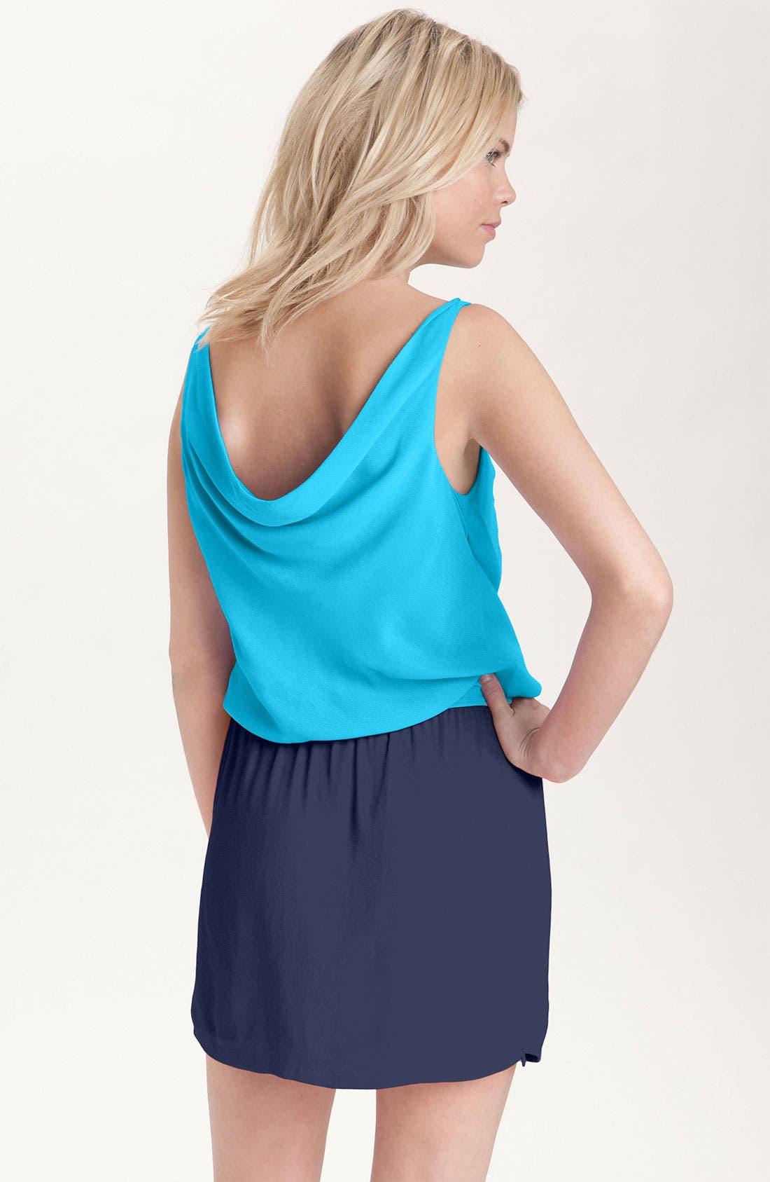 Alternate Image 2  - Diane von Furstenberg 'Lou' Colorblock Dress