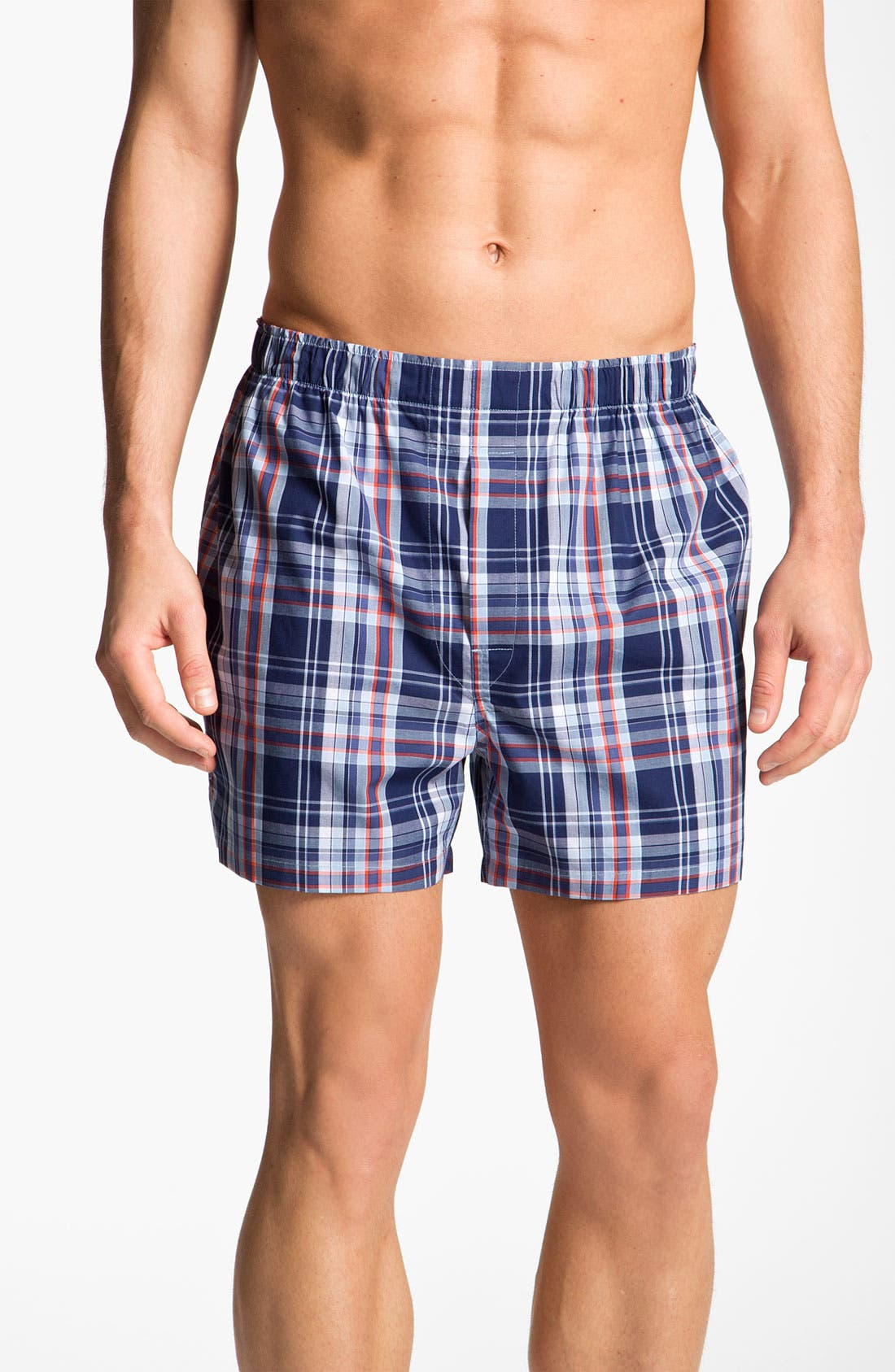 Alternate Image 1 Selected - Brooks Brothers Madras Boxers