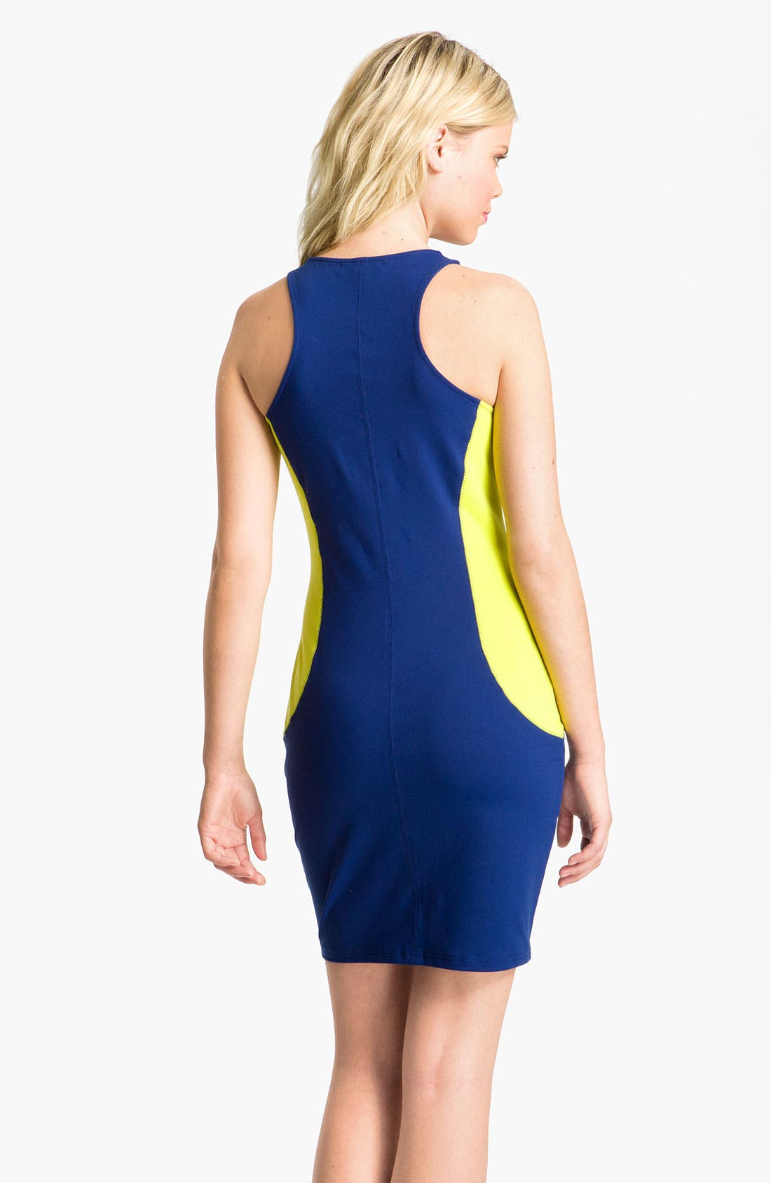 Alternate Image 2  - Trouvé Colorblock Scuba Dress