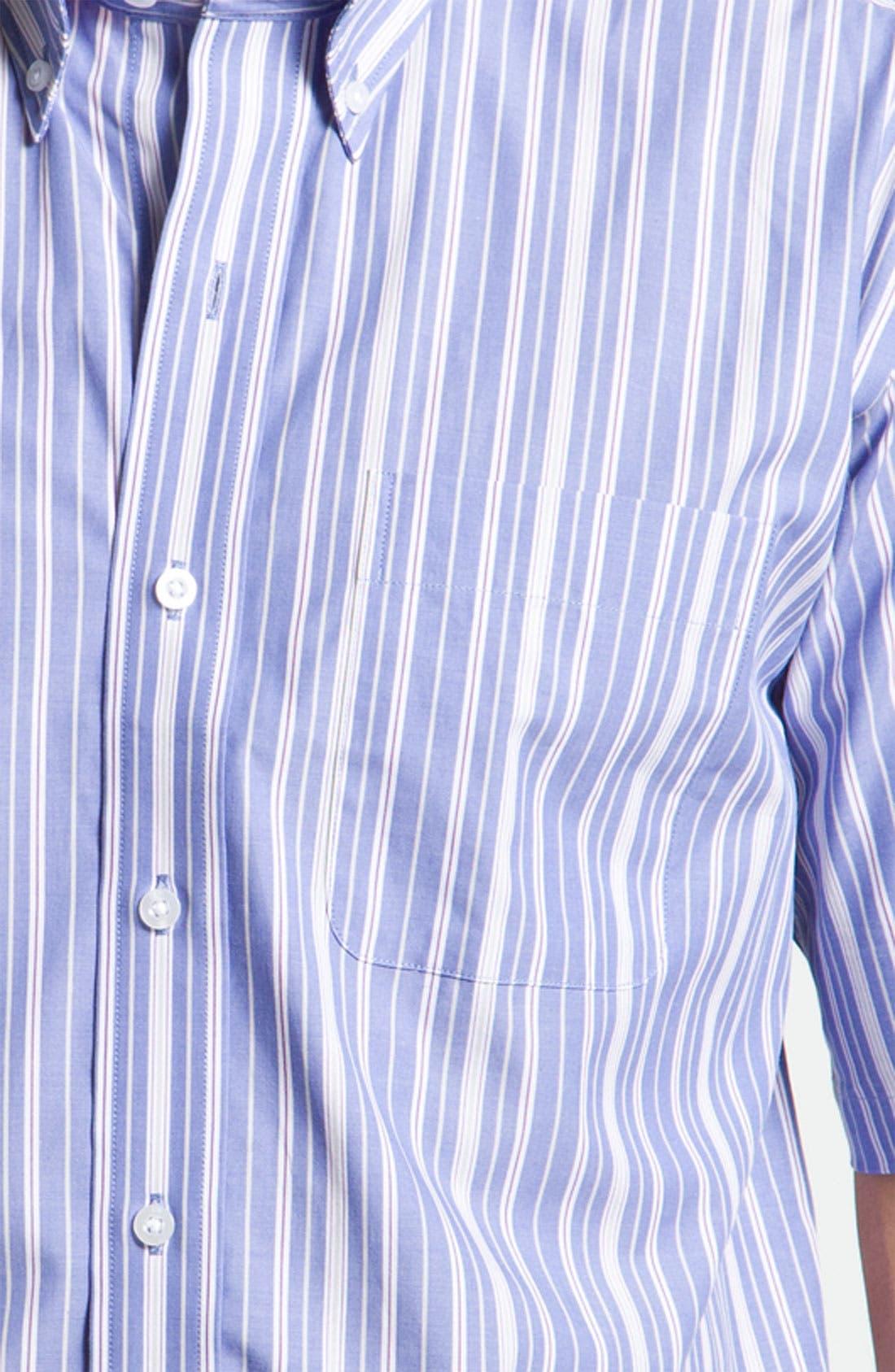 Alternate Image 3  - Cutter & Buck 'Beach Access' Stripe Sport Shirt