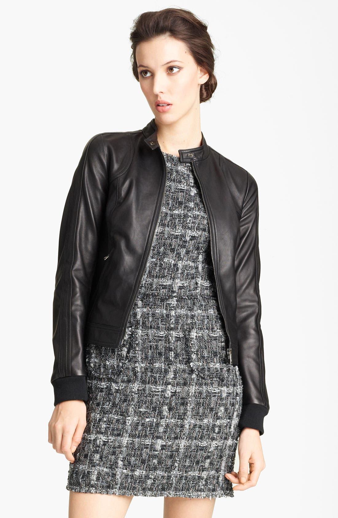 Alternate Image 1 Selected - Dolce&Gabbana Leather Jacket
