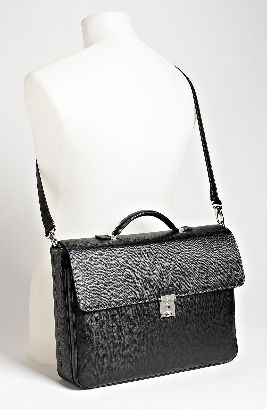 Alternate Image 4  - Salvatore Ferragamo 'Revival' Briefcase