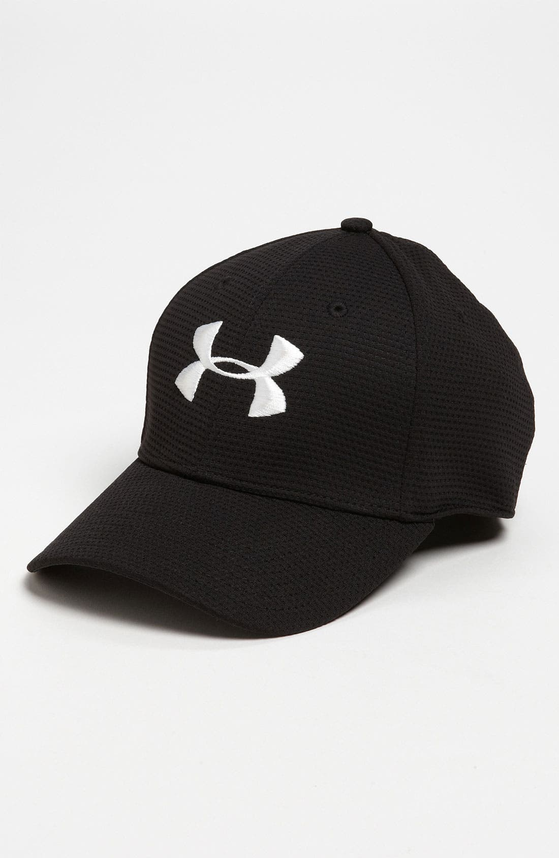 Main Image - Under Armour 'Blitzing' Stretch Fit Baseball Cap