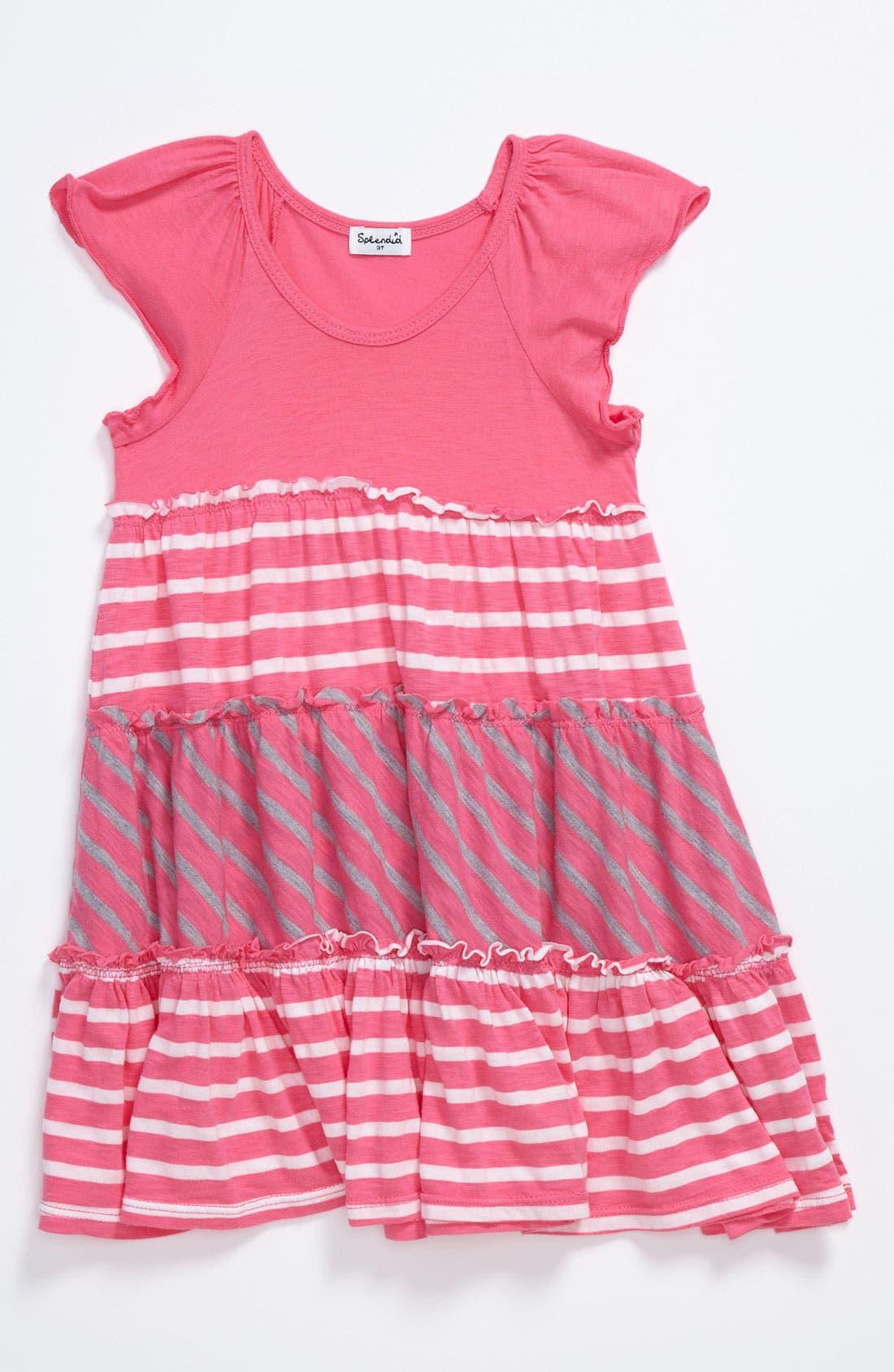 Alternate Image 1 Selected - Splendid Stripe Dress (Toddler)