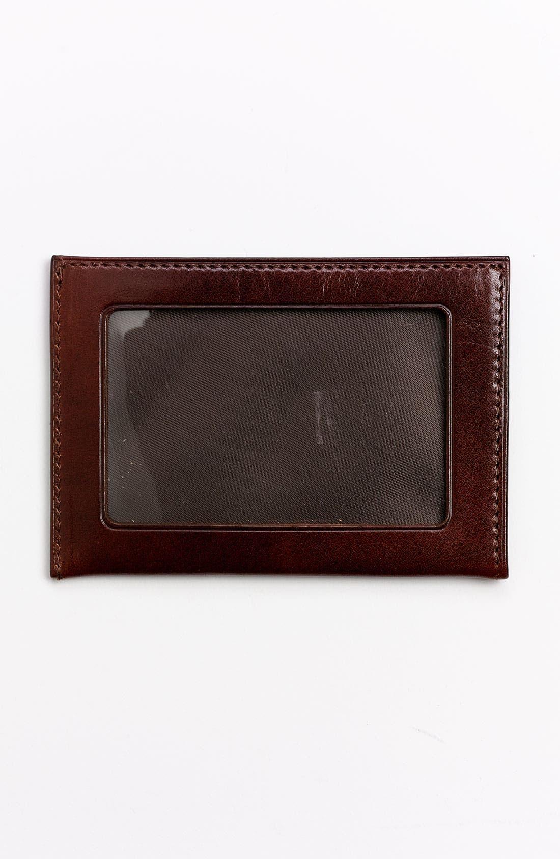 'Old Leather' Weekend Wallet,                             Alternate thumbnail 2, color,                             Dark Brown