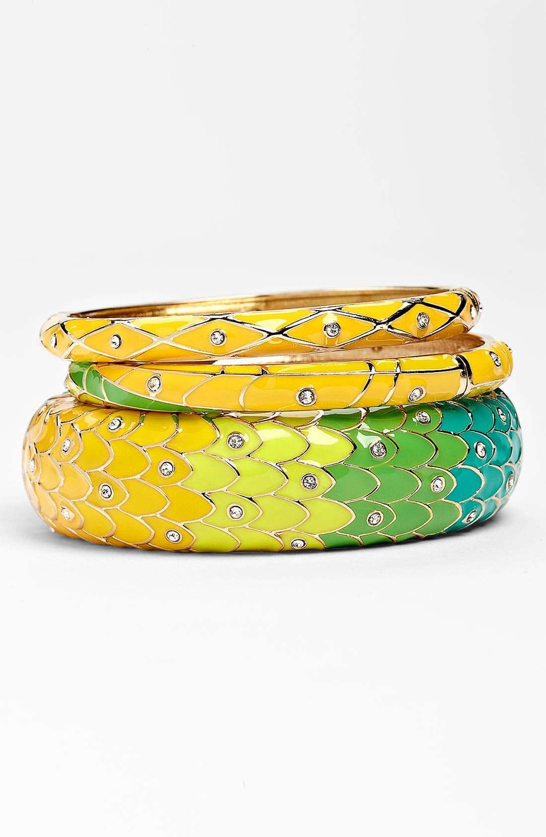 Main Image - Sequin Large & Small Bangles