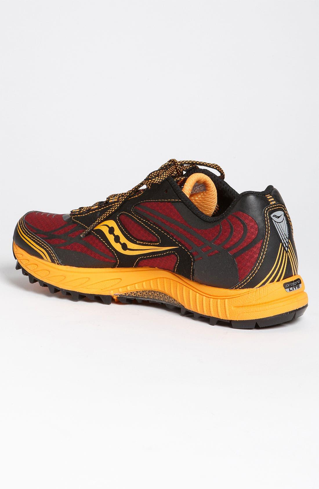Alternate Image 2  - Saucony 'ProGrid Peregrine 2' Trail Running Shoe (Men)