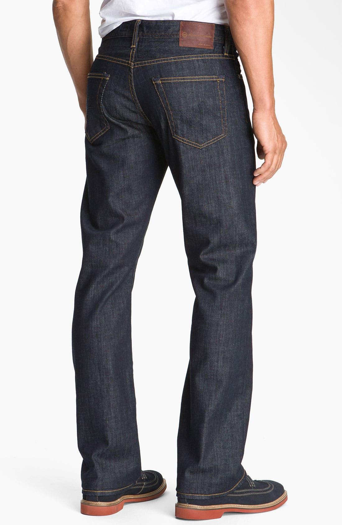 Alternate Image 1 Selected - AG 'Protégé' Straight Leg Jeans (Kent)